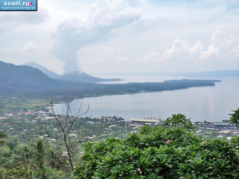 Рабаул, остров Новая Британия (Rabaul, New Britain island), Папуа-Новая Гвинея.