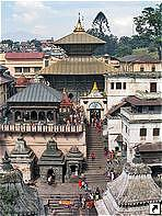 Храмовый комплекс Пашупатинатх (Pashupatinath Temple), Катманду, Непал.